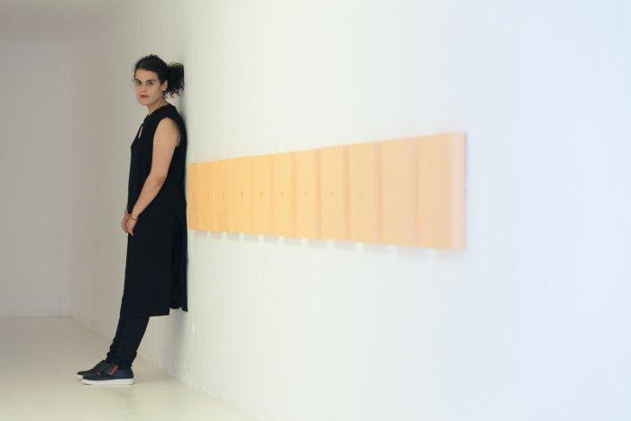 Ana Garcia-Pineda obre el cicle d'exposicions 'Peu a fora. Expedicions i diàspores' a la Fundació Miró | Foto: Fundació Miró