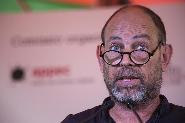 Joan Sala és el director de la Setmana del Llibre en Català | Foto: © LaSetmana