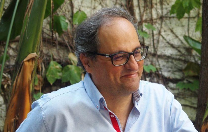 """Quim Torra: """"Muriel Casals és una veu trencadora i revolucionària"""""""