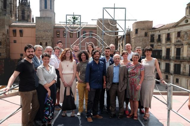 Membres del Comitè Científic del Congrés d'Arquitectura 2016 copyright: Col·legi d'Arquitectes de Catalunya