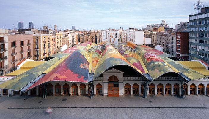 Mercat Santa Caterina Barcelona | Foto: Ajuntament Barcelona