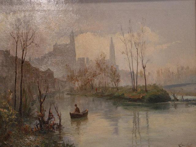 """Girona vista des de Pedret"" (1883-1905), Jaume Pons Martí   Marc Martí, Diari de Girona"