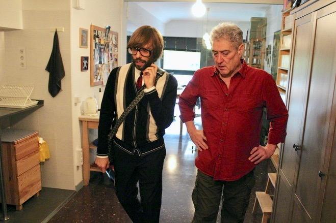 Quim Monzo i Oscar Dalmau