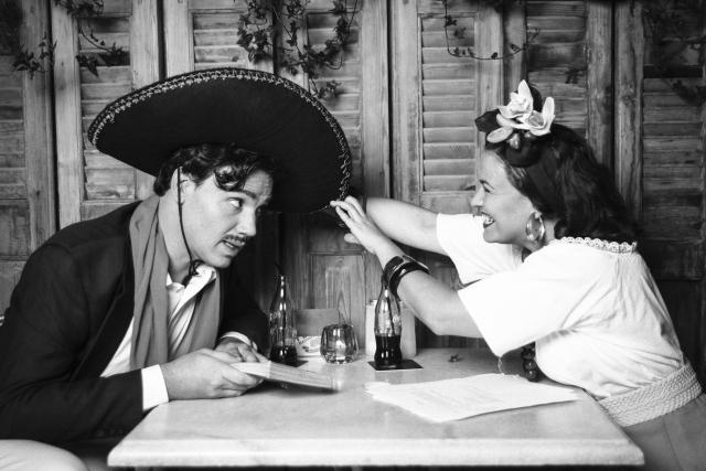 Aitor Galisteo i Cinta Moreno protagonitzen 'There was a fiesta!' al Tantarantana. © Núria Gámiz