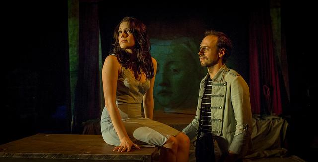 Diana Gómez i Xavier Ripoll en un moment de 'La desaparició de Wendy'. © David Ruano