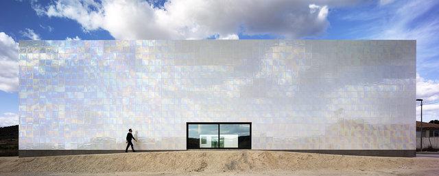 L'auditori MUCA està fet amb ceràmica| Foto: David Frutos