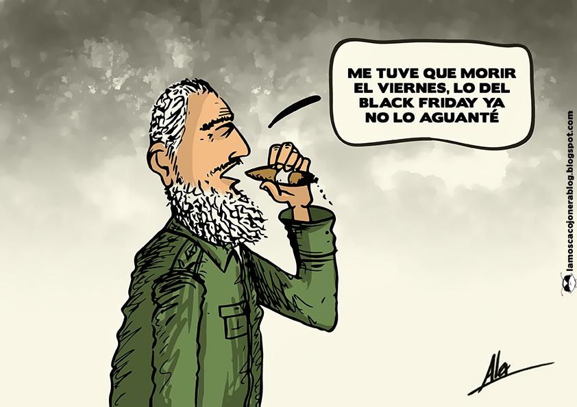 Fidel friday la mosca