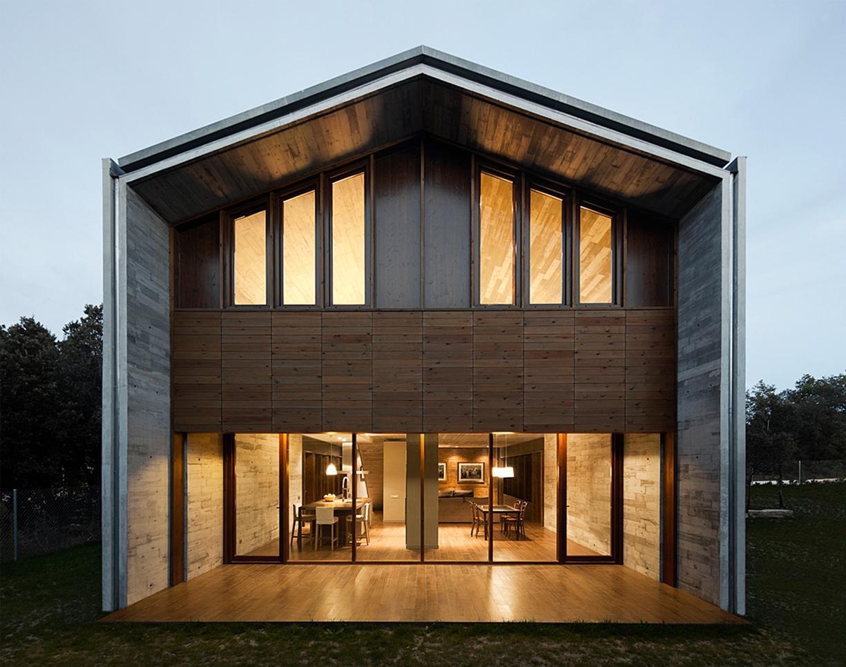 La casa FCK HOUSE és un projecte de Juan Trias de Bes | Foto: TDB Arquitectura
