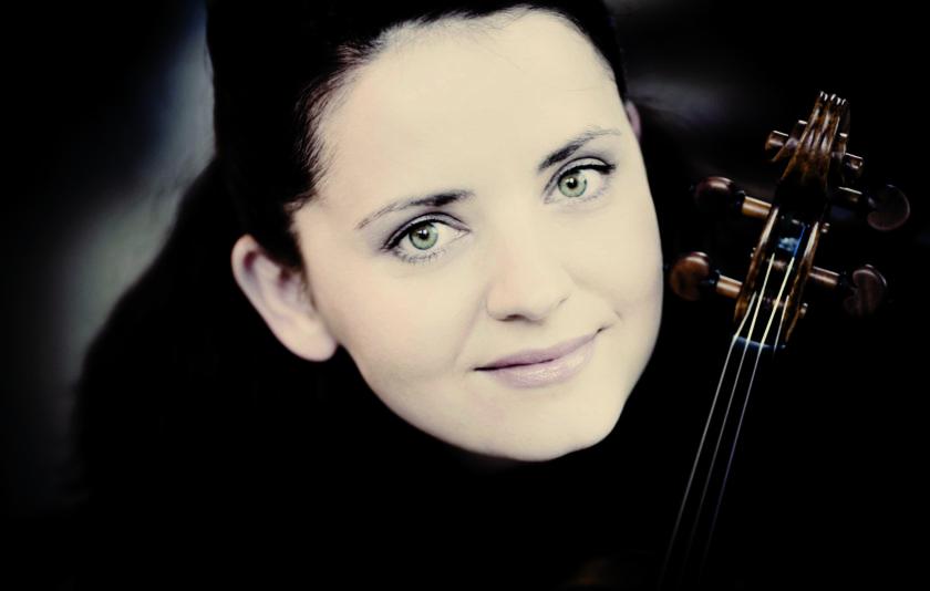 Baiba Skride, una revelació del violí, amb l'OBC