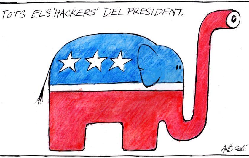 Els hackers del president
