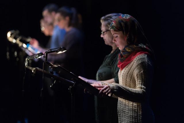 Anna Güell i Georgina Latre a 'Kalimat'. © May Zirkus - TNC