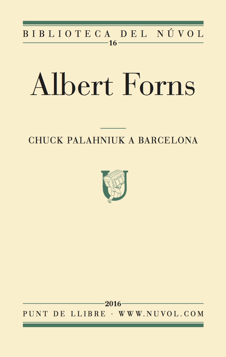 Chuck Palahniuk a Barcelona