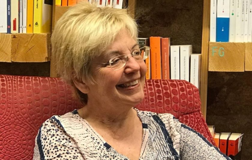 L'escriptora Margarida Aritzeta, creu de Sant Jordi