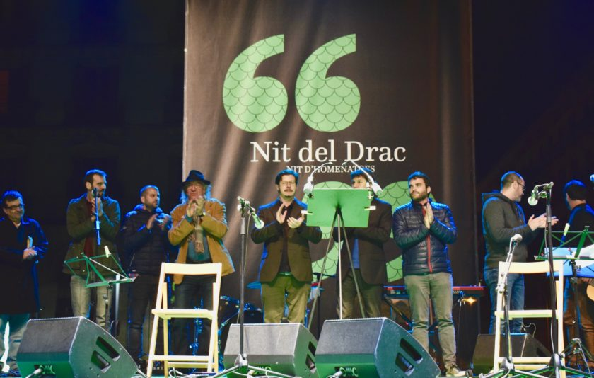 La Nit del Drac. Primera edició