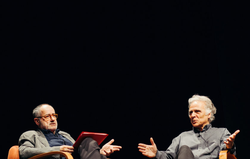 Joan Sellent i Miquel Desclot, cara a cara