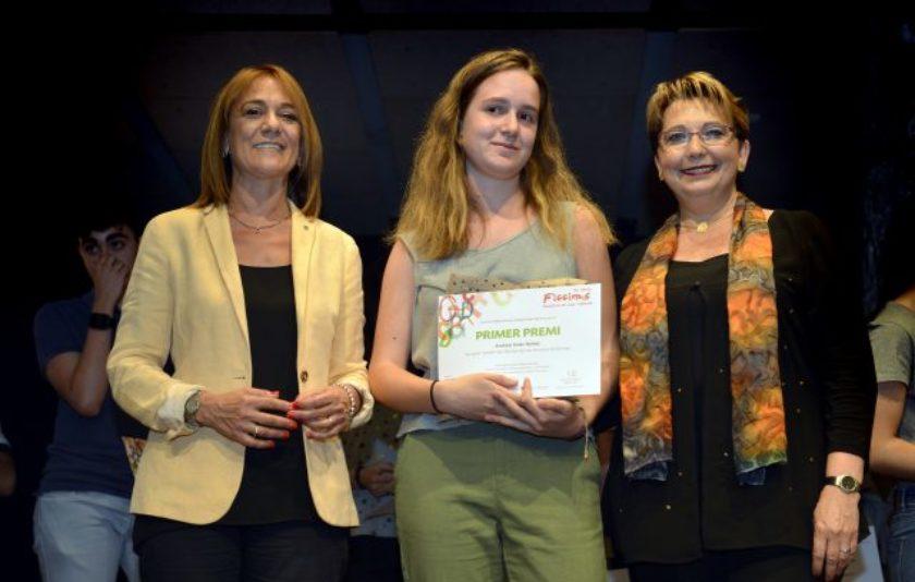 Andrea Soler guanya el primer premi Ficcions 2017