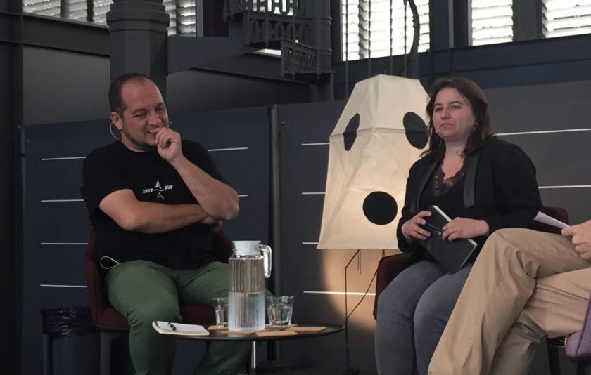 """David Fernández: """"La pitjor censura és l'autocensura"""""""