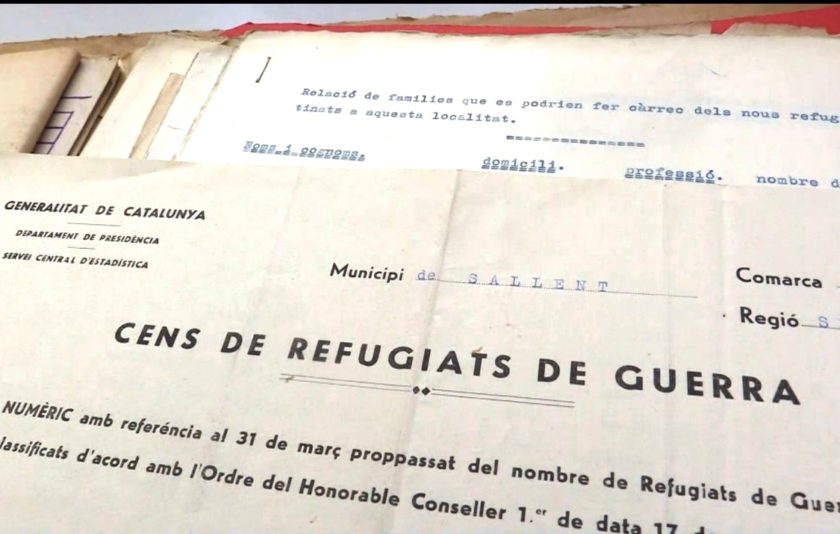 Els refugiats de la Guerra Civil, a la nova exposició virtual dels arxius municipals