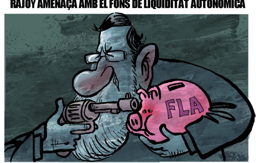 L'amenaça de Rajoy
