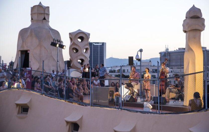 La Pedrera: jazz des del terrat