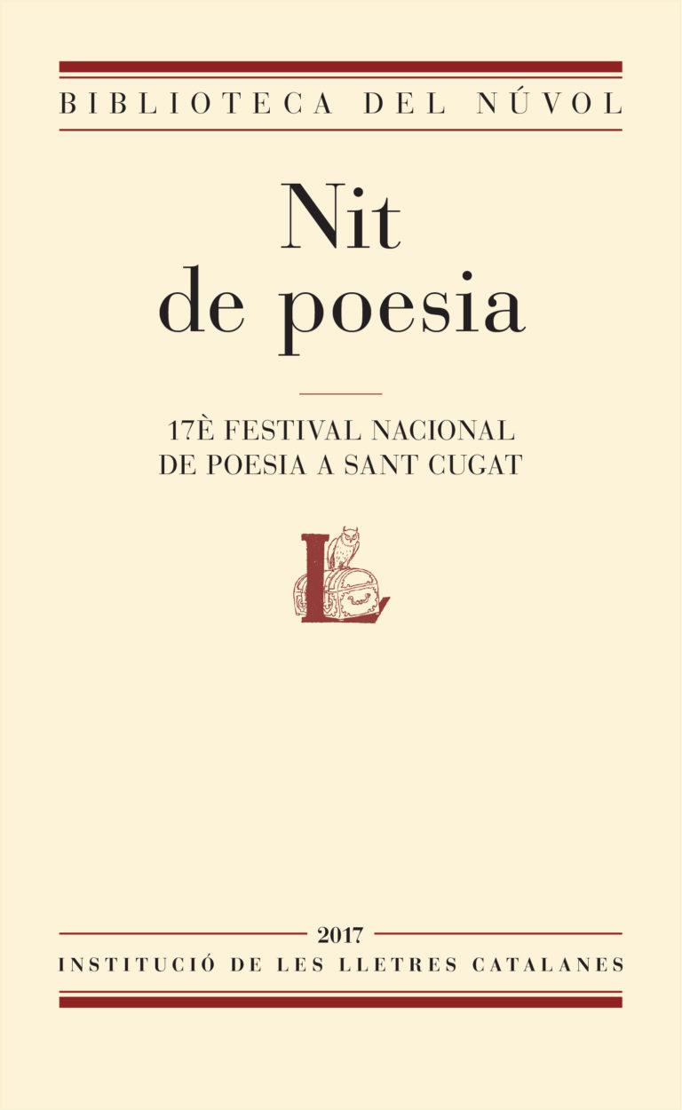 Nit de poesia 2017