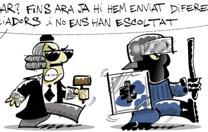 Els negociadors de l'Estat Espanyol