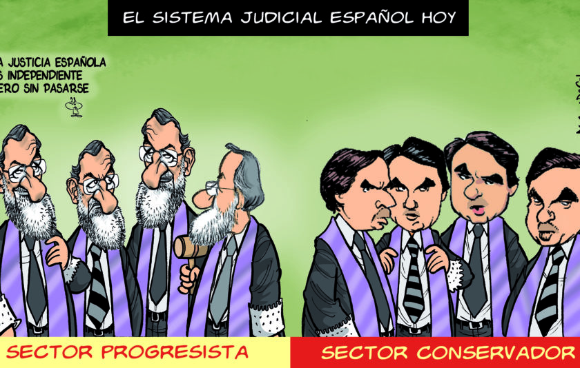 Justícia independent, però sense passar-se