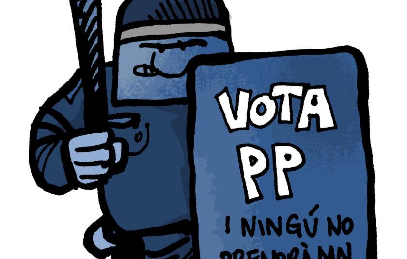 Vota el PP i ningú no prendrà mal