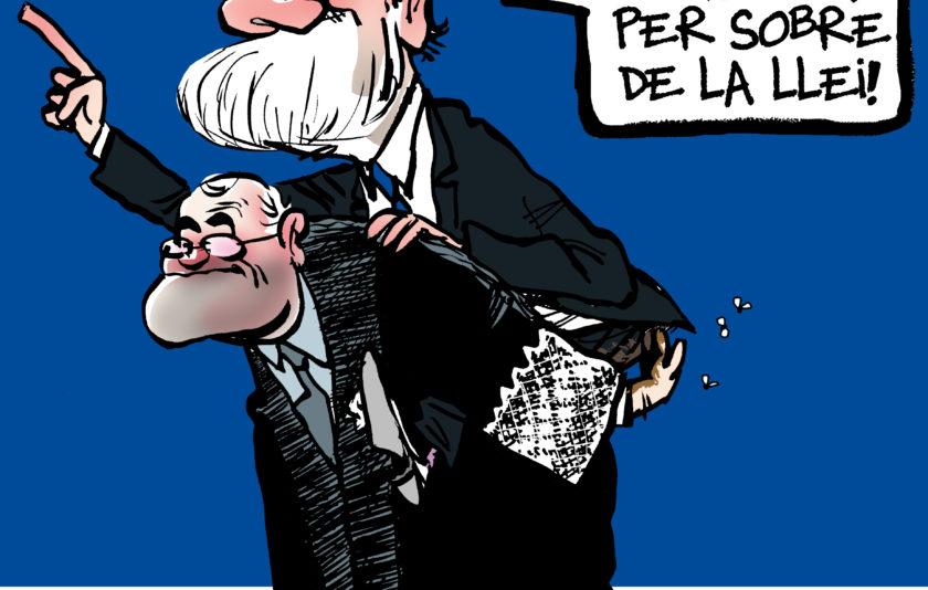 El dret penal de l'enemic d'Espanya