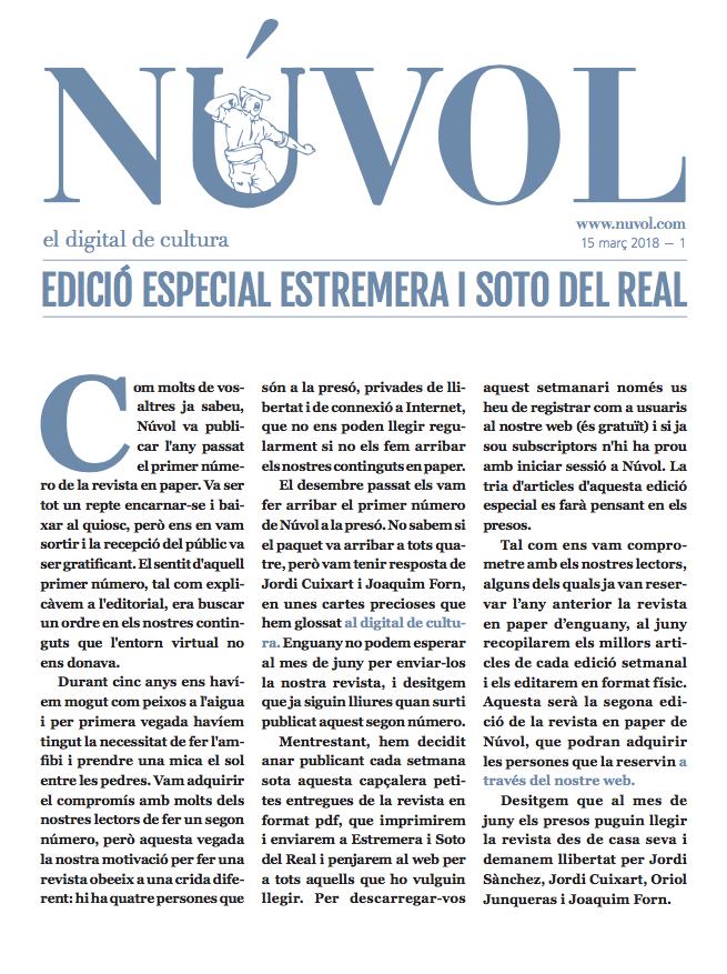 Núvol Paper 1 – Edició Estremera i Soto del Real