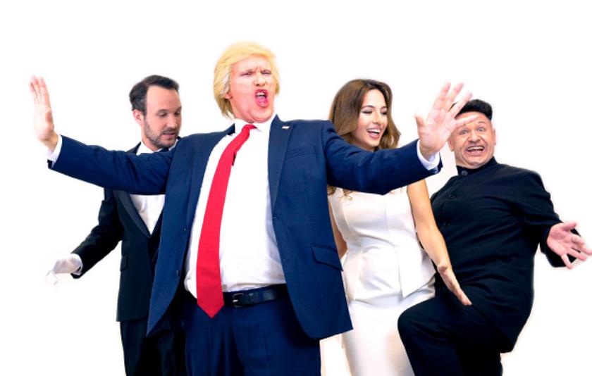 Una astracanada per l'honorable Donald Trump