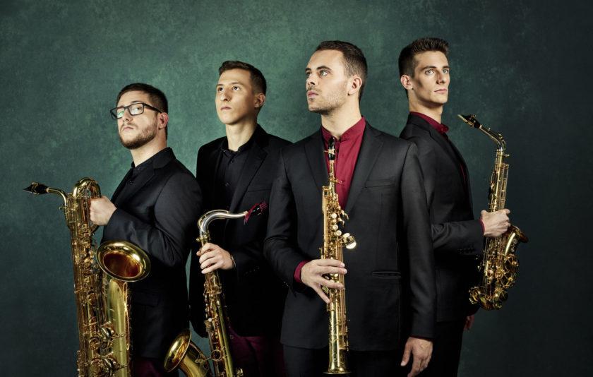 Els joves del saxo prenen l'Auditori de Barcelona