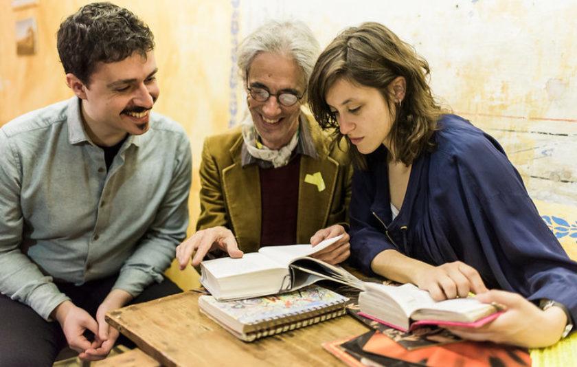 'El nus la flor' d'Enric Casasses al Monestir de Pedralbes
