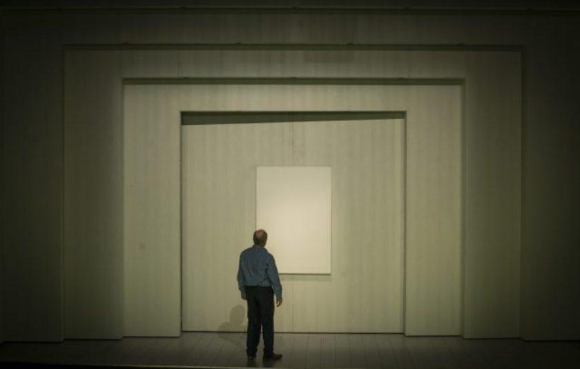 Art: un simple quadre pintat de blanc?