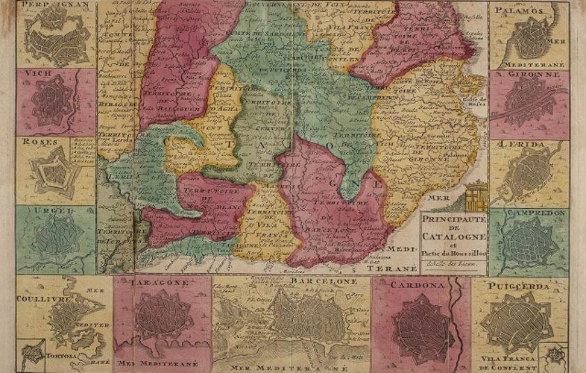 Realitat i història a través d'un mapa