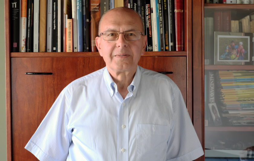 """Joaquim Rafel: """"La llengua ha sobreviscut gràcies a la perseverança dels parlants"""""""