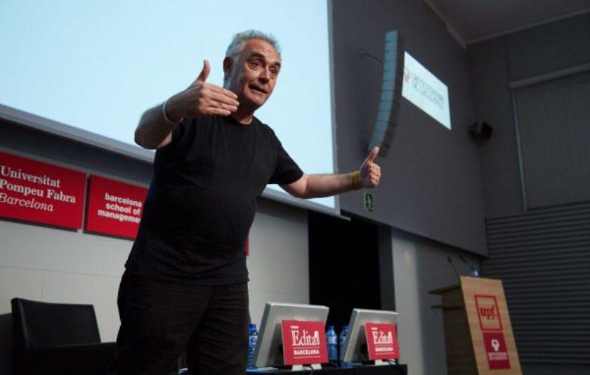 """Ferran Adrià: """"La creativitat és molt cabrona"""""""