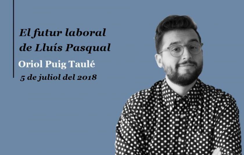 El futur laboral de Lluís Pasqual