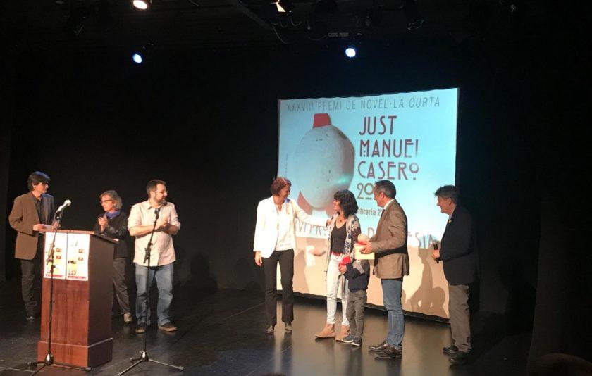 Anna Monreal Prat guanya el premi Just M. Casero