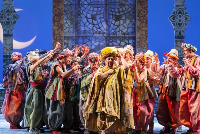 L'italiana in Algeri. Foto: Teatro Reggio di Torino