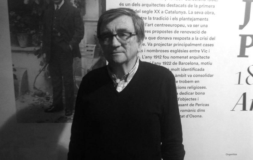 """Josep Maria Claperols i Pericas: """"A cada època el seu art i a cada art la seva llibertat""""."""