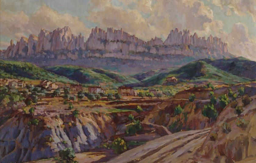 José María Mascort. El paisatge d'una vida en un quadre