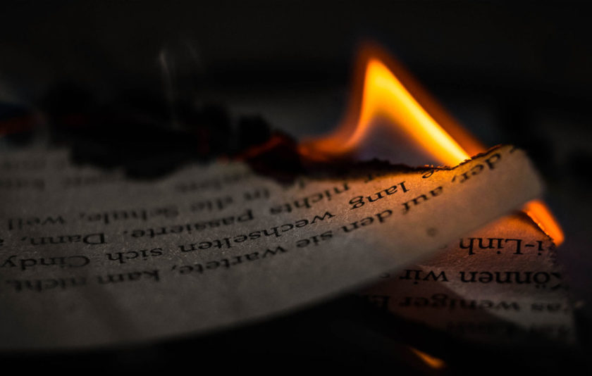 Incendis i literatura: cercant la simplicitat heroica