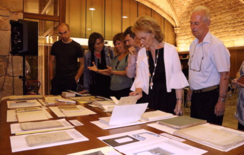 Les interioritats de l'Editorial Barcino entren a la Biblioteca de Catalunya