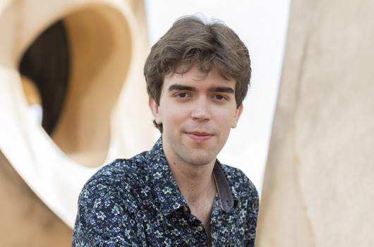 Albert Cano és resident a La Pedrera