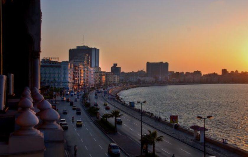Una postal d'Alexandria