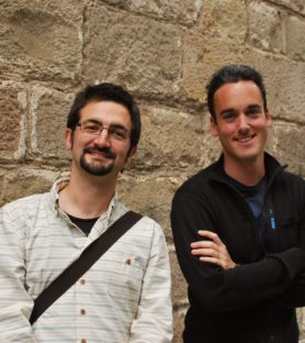 Vàngelis Villar i Daniel Zapater