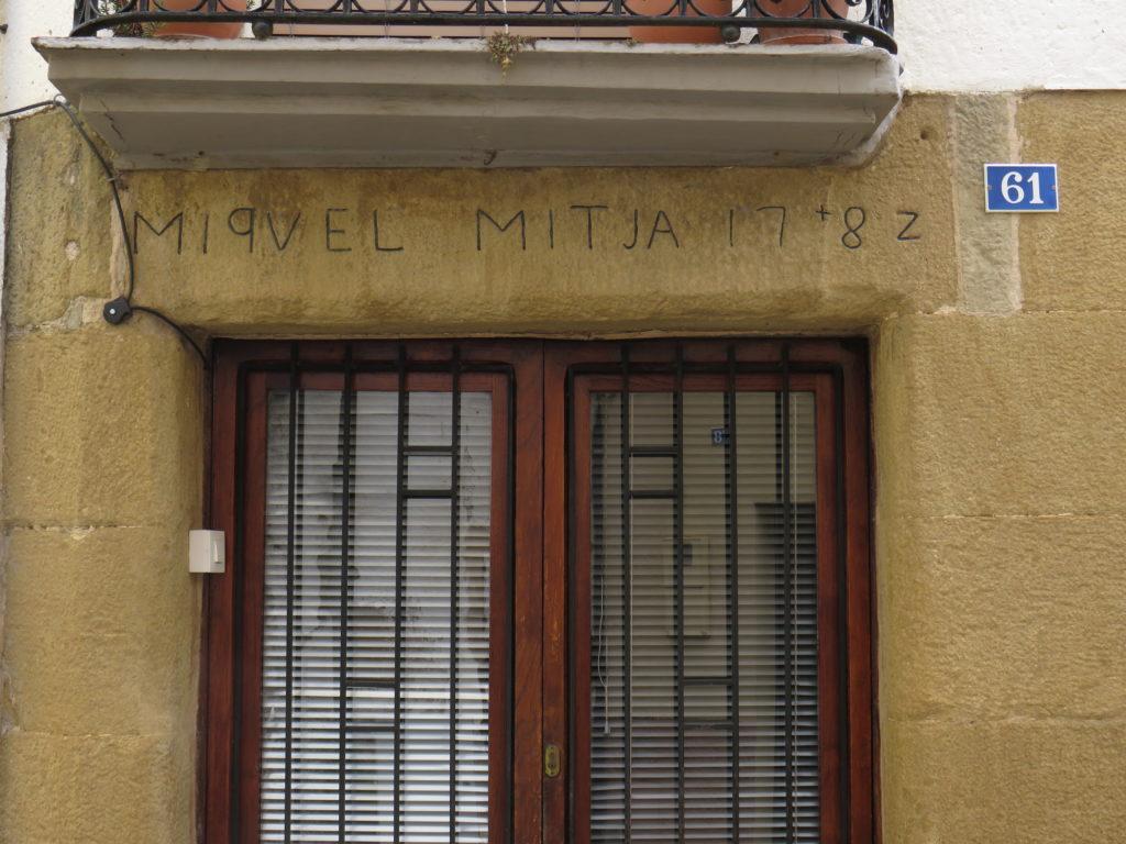 La casa de Miquel Mitjà a Amer, datada de l'any 1782 |Foto: Martí Crespo