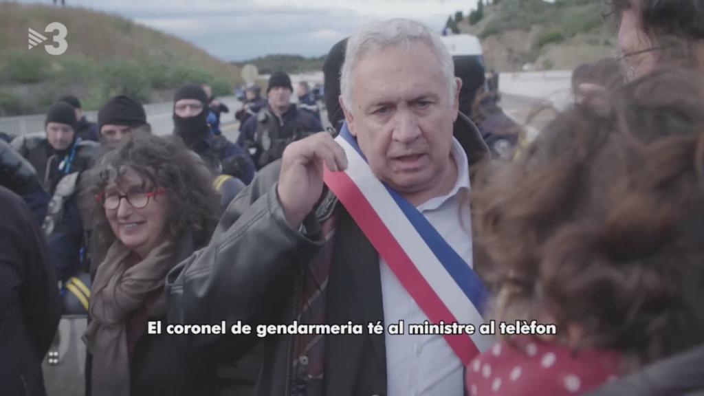 TV3 va subtitular les paraules del batle de Prats de Molló, de la Catalunya del Nord, fet que va causar polèmica