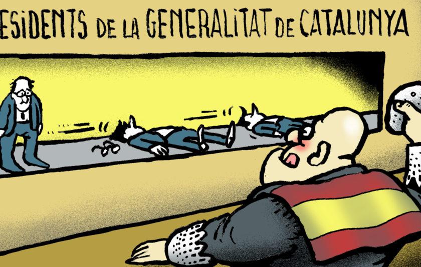 Tombant presidents de la Generalitat